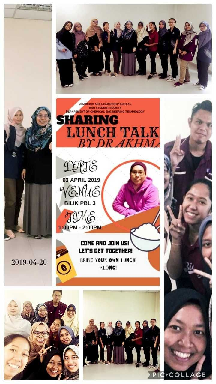 Sharing Lunch Talk by Dr Akhma