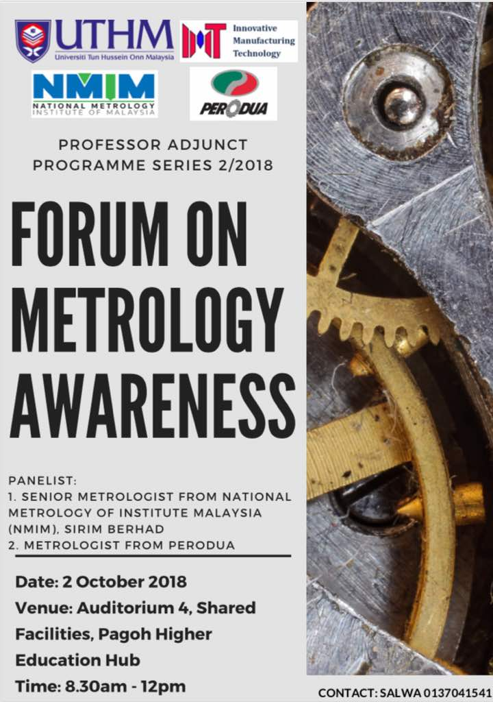 Forum on metrology awareness