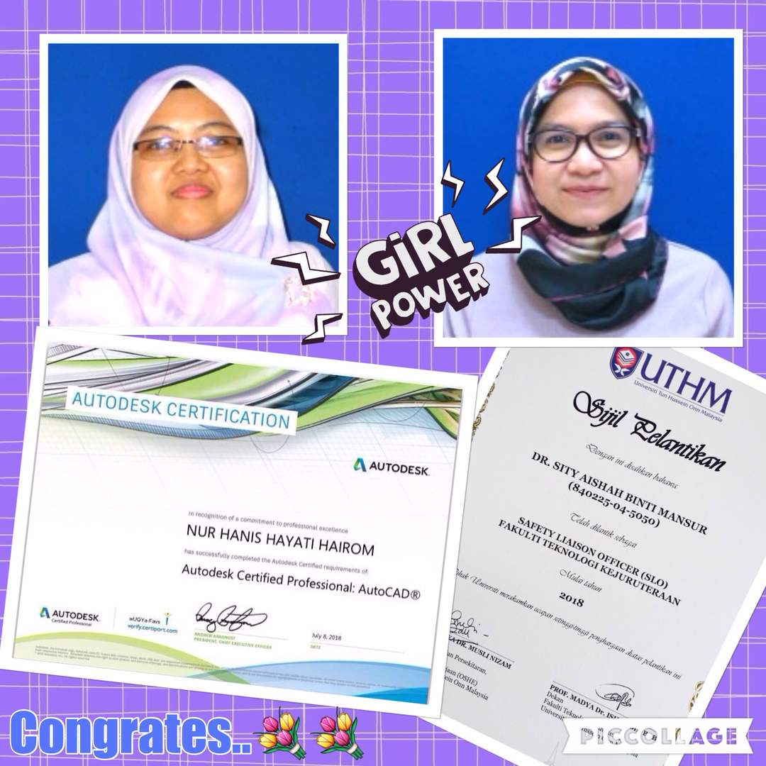 Certificate Aishah and Hanis